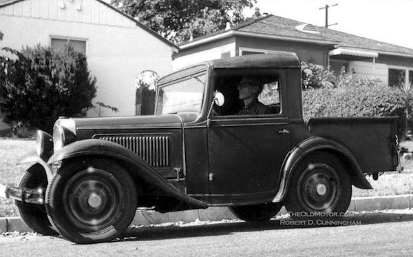 Austin Pickup Designed By Roy S. Evans