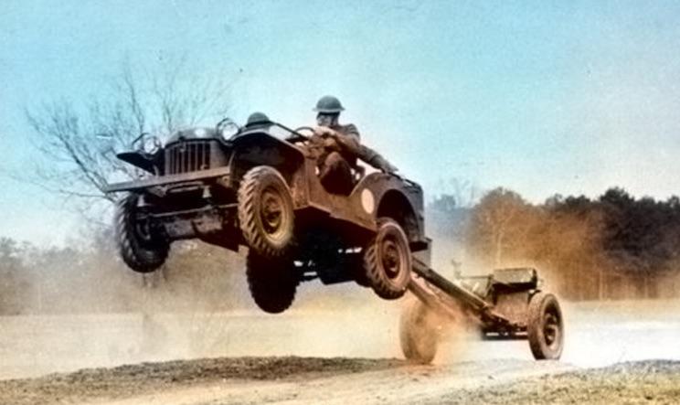 Flying American Bantam® Jeep
